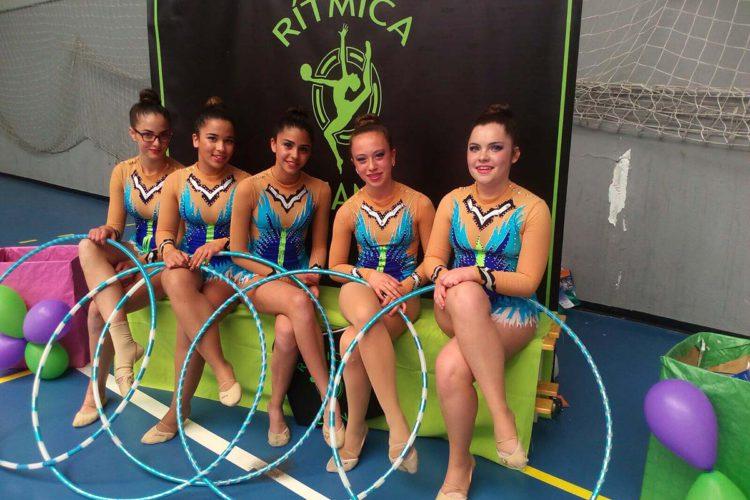Las gimnastas rondeñas del Club AGRA vuelven a sumar más medallas en Granada