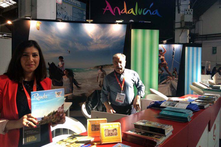 Ronda participa en la Feria de Turismo de Barcelona dentro del espacio de Andalucía