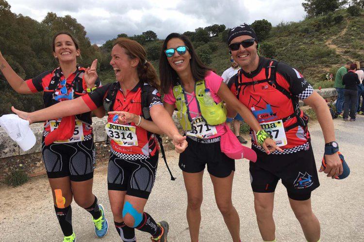 Todos los miembros del Club Ascari-Harman Trail Running que corrieron los 101 km lograron terminar la prueba