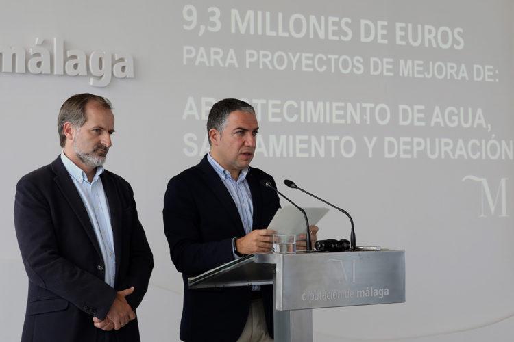 La Diputación destinará este año un millón de euros para las depuradoras de Jimera de Líbar y de Atajate