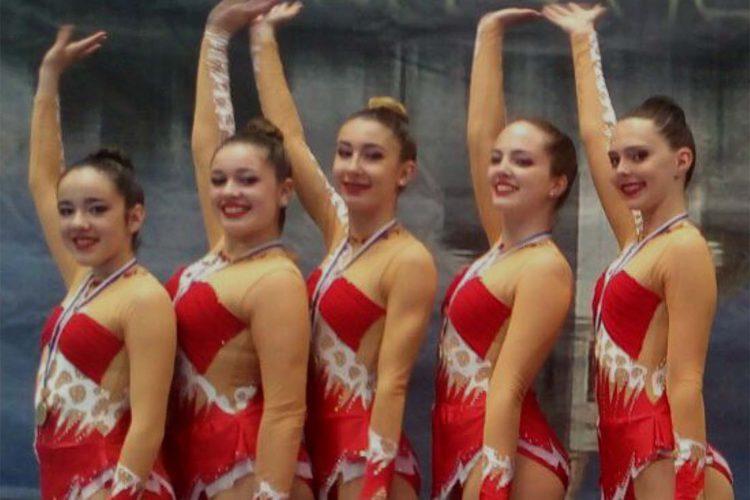 Gran actuación de las gimnastas del Club AGRA en el Torneo Internacional de la Diputación de Huelva
