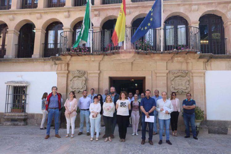 Banderas a media asta en el Ayuntamiento en señal de duelo por los 22 fallecidos en el atentado de Mánchester