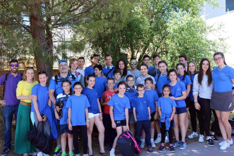 La Escuela Municipal de Natación de Ronda comienza su andadura en el Circuito Provincial