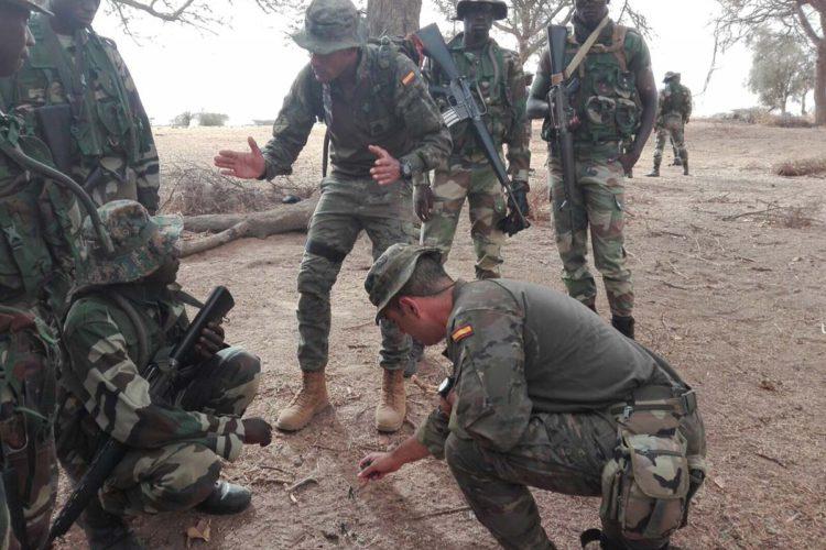 Efectivos de la Legión de Ronda se desplazan a Senegal para instruir a las tropas de este país