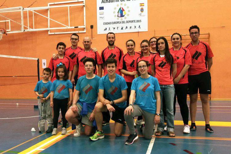 El Club Bádminton Ascari-Ronda finaliza la Liga Malagueña en tercer puesto