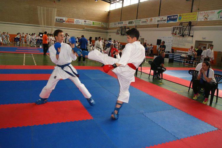 Doce karatecas del Club Bushido de Ronda se subieron al pódium en la fase final de la Liga Provincial -13 años