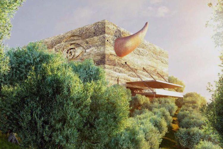 Los promotores de la almazara ecológica de Philippe Starck entregan el proyecto en el Ayuntamiento