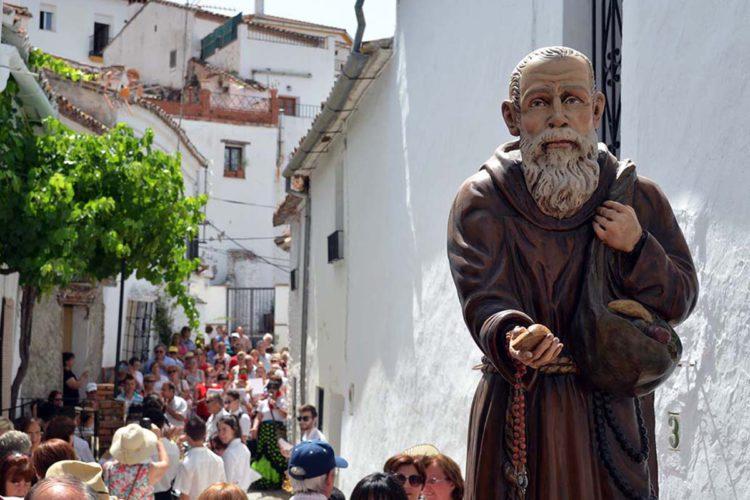 Alpandeire celebró por todo lo alto el 153 aniversario del nacimiento de Fray Leopoldo
