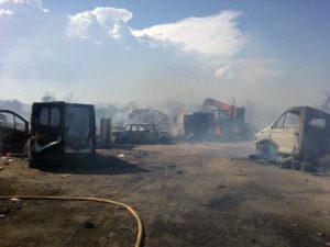 Las llamas han calcinado cerca de 5.000 metros de superficie.
