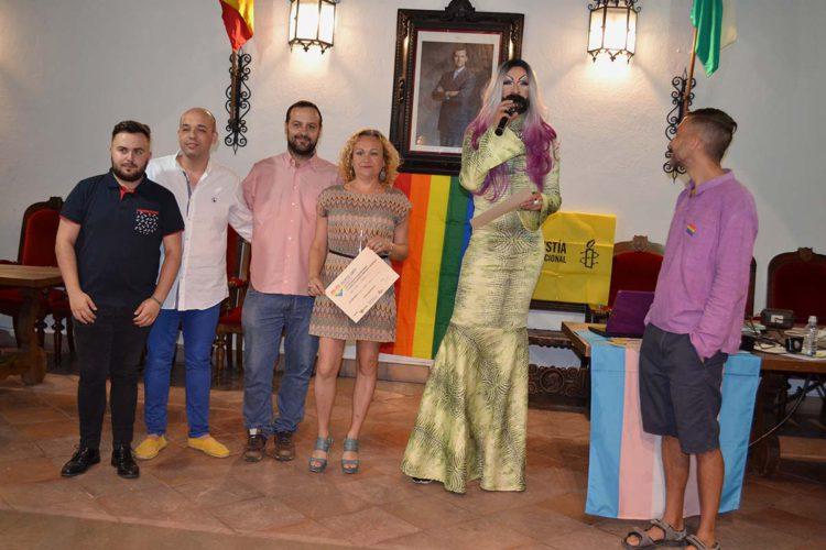 El Ayuntamiento de Ronda acoge los Premios Serranía y Sierra de las Nieves LGBTI+2017 de la Federación Andaluza Arco Iris