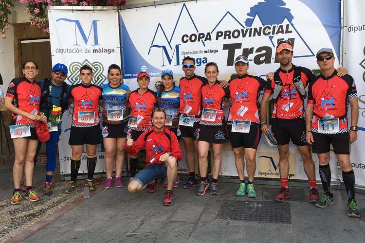 El Club Ascari-Harman Trail Running logró cinco medallas en la I CxM Igualeja
