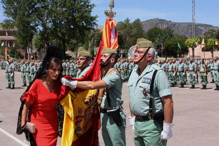 Más de 800 personas jurarán la bandera de España este domingo en el cuartel de la Legión de Ronda
