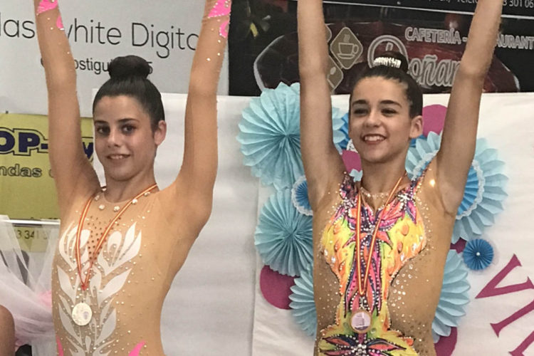 Lucía Palenque, del Club Agra, logró medalla de plata en el Torneo de Gimnasia Rítmica de Torredonjimeno