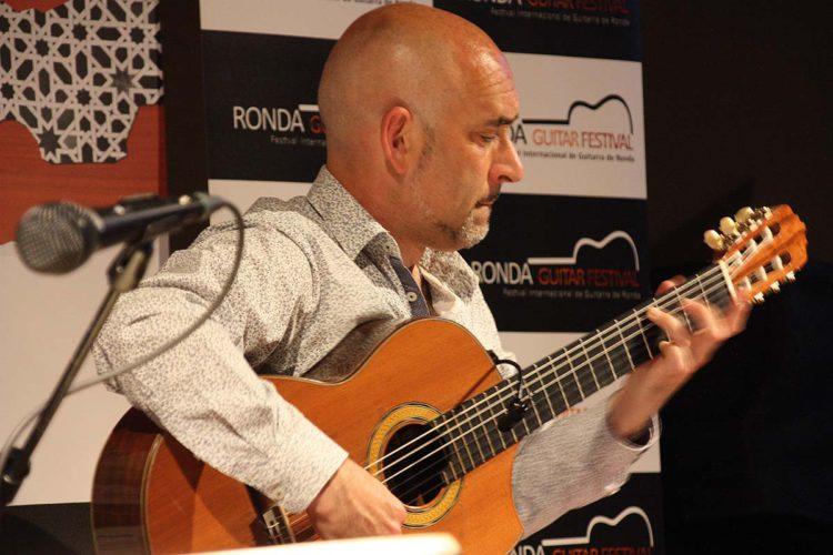Paco Seco, único guitarrista español invitado al Fiuggi Guitar Festival de Italia
