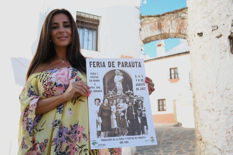 Parauta presenta el cartel anunciador de la Feria y Fiestas patronales de Nuestra Señora del Rosario