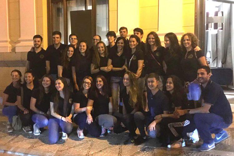 Los Coros de Ronda participan durante estos días en Portugal en el Festival de Danzas del Mundo