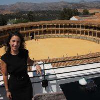 Mariana Márquez, directora del Hotel Catalonia: «hemos buscado que la decoración y que el servicio estén acordes con la esencia de Ronda»