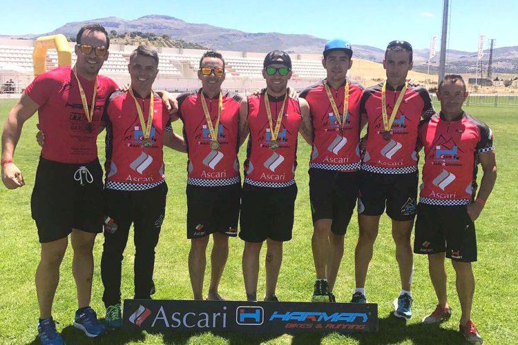 Corredores del Club Ascari-Harman Trail Running lograron vencer en varias modalidades del Bull Race Ronda