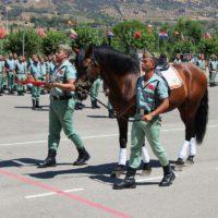 La Legión celebra la festividad de Santiago Apóstol, patrón de España y del Arma de Caballería, con una parada militar