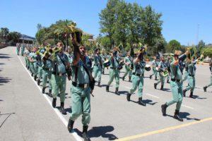 Banda de Guerra de la Legión en la parada militar.