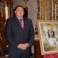 Salvador Carrasco es elegido nuevo hermano mayor de la Virgen de la Paz, Patrona de Ronda
