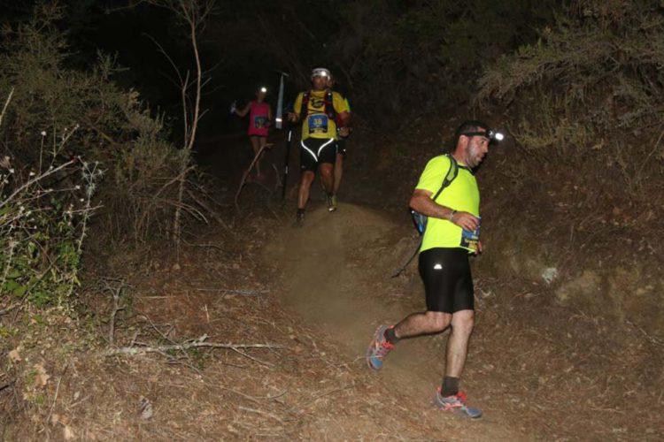 Más de cien corredores participaron en la II edición del Trail Nocturno de Genalguacil