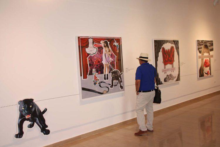 El Museo Joaquín Peinado ofrece una exposición sobre iconografía femenina de la artista argentina Paula Vicenti