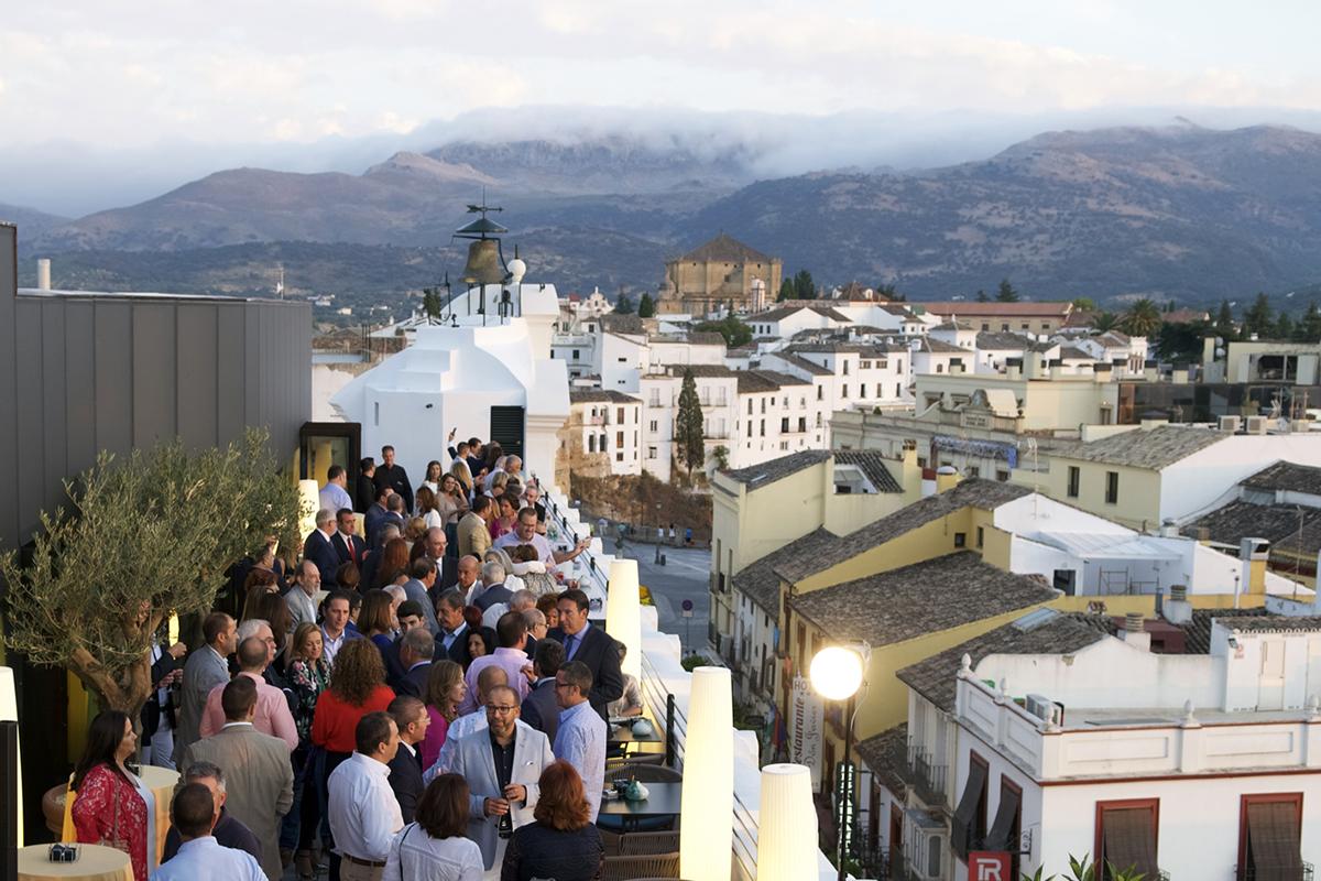 El nuevo hotel catalonia ronda se presenta en sociedad con un acto inaugural diario ronda - Bares en ronda ...