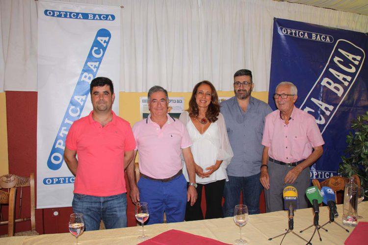 Presentan la XXXIII edición del Torneo de Tenis Óptica Baca, el más antiguo de Andalucía