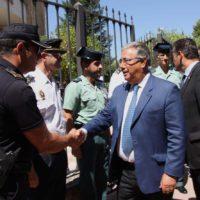 La última visita que realizó el ministro de Interior a Ronda fue en agosto de 2017 tras el fallecimiento de los cooperantes rondeños en la India.