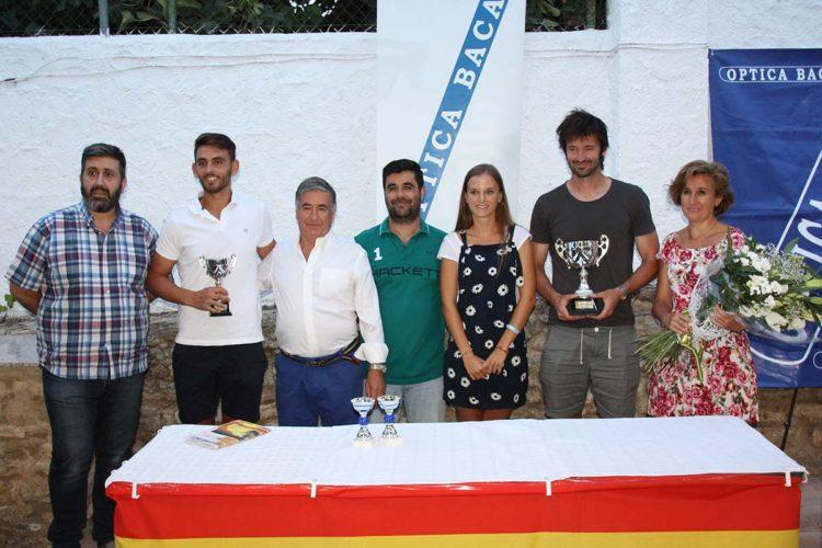 El asturiano Roberto Menéndez se proclamó campeón de la XXXIII edición del Torneo de Tenis Óptica Baca
