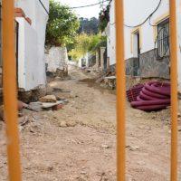 Alpandeire acomete las obras para la remodelación de la avenida de Andalucía