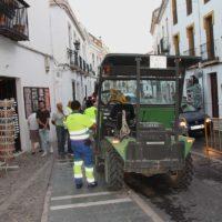 El Ayuntamiento reclama a Aqualia que limpie la red de alcantarillado para evitar acumulaciones de agua con las lluvias