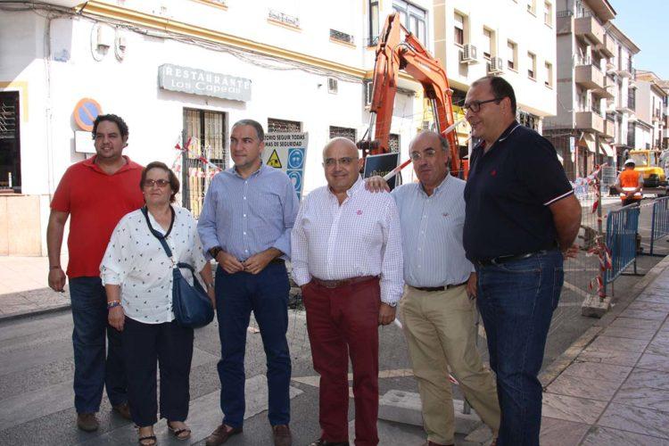 Bendodo alerta ante la falta de inversiones en Ronda por parte del Tripartito y de la Junta de Andalucía
