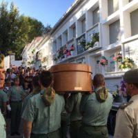 Emotiva despedida en Gaucín al general Faura Martín, el jefe del Estado Mayor que modernizó el Ejército de España