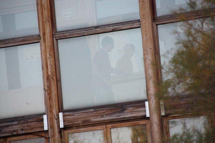 Okupas vuelven a instalarse en el Edificio del Mueble Rondeño tres meses después de que fuesen desalojados