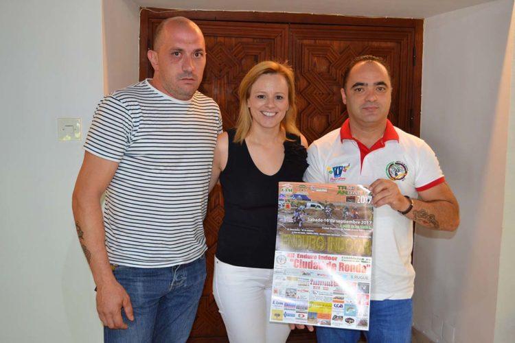 Medio centenar de motoristas se darán cita el sábado en la XII edición del Enduro-Indoor 'Ciudad de Ronda'