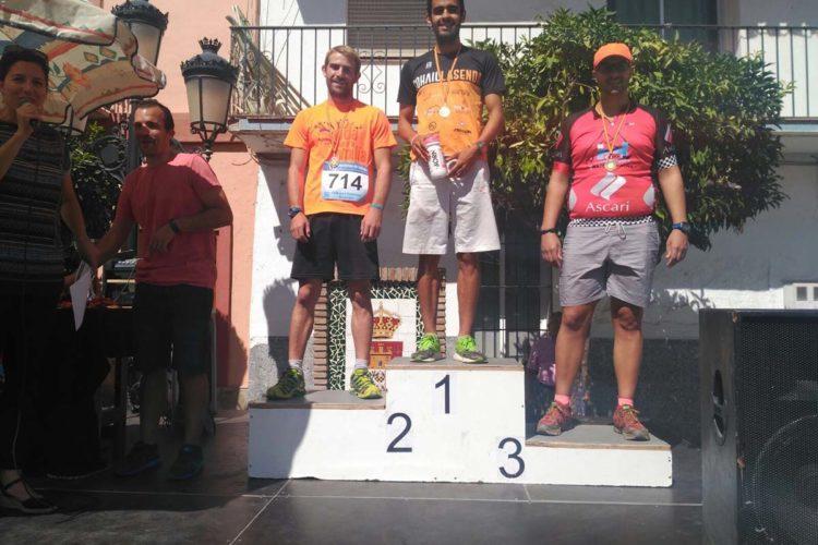Carlos Mate, del Club Ascari-Harman Trail Running, quedó tercero en la Carrera Popular Villa de Monda