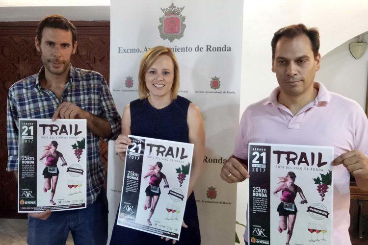 Un total de 300 corredores participarán en la I edición del Trail Ruta del Vino de Ronda
