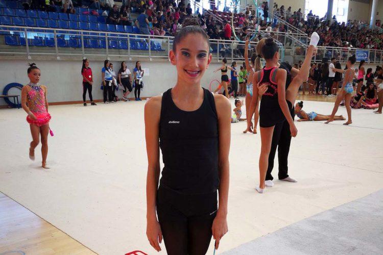 La rondeña Eva Barea queda cuarta en el Torneo Nacional de Gimnasia Rítmica