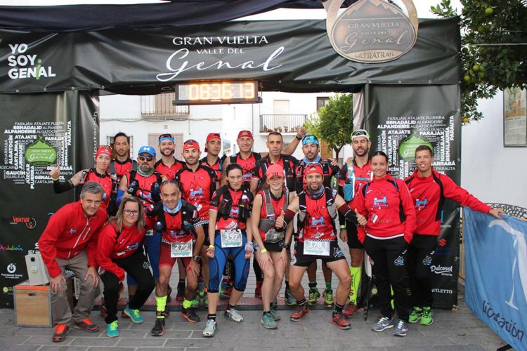El Club Ascari-Harman Trail Running logra dos segundos puestos en la Trail de la Gran Vuelta Valle del Genal