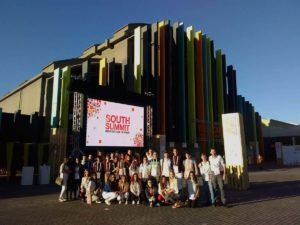 En la sede del congreso celebrado en Madrid.