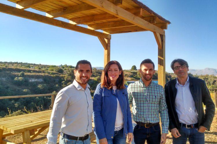 La Diputación de Málaga sitúa un observatorio para el avistamiento de aves en Arriate