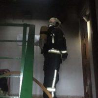 Una mujer sufre quemaduras en las manos tras declararse un incendio en su vivienda