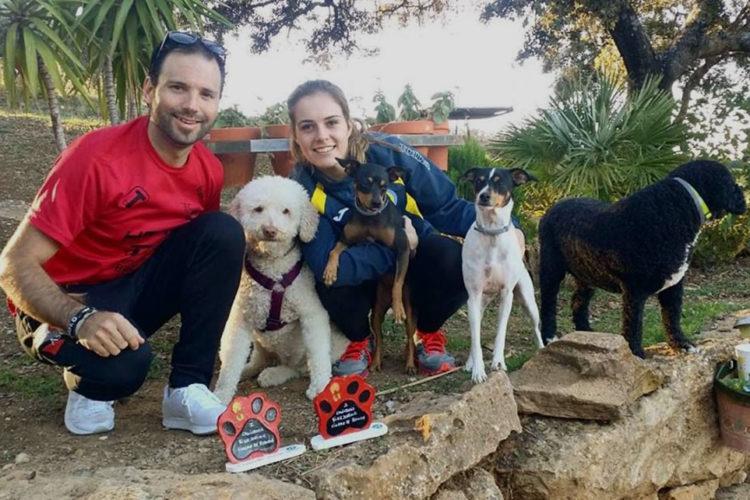 Gran participación de corredores y de perros en I Edición Canicross-Bikejoring Ciudad de Ronda 2017