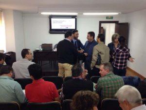 Reunión de los representantes de la Serranía.