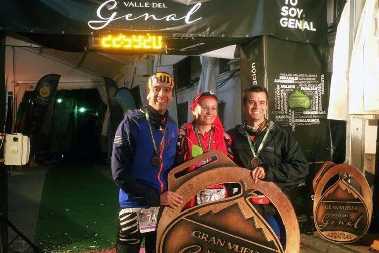 El Club Ascari-Harman Trail Running tuvo una amplia representación en la Gran Vuelta del Genal, la Carrera de Grazalema y en el Canicross de El Burgo