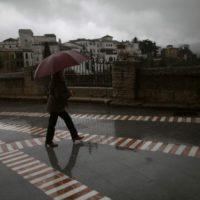 La Serranía permanecerá durante toda la jornada del viernes en alerta amarilla por fuertes rachas de viento y lluvia