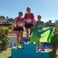 Encarni Villena, del Club Ascari-Harman Trail Running, logra dos oros y una plata en los Encuentros de Atletismo Popular de la Diputación