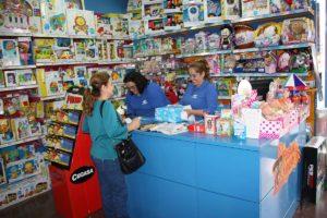 Durante estos días se están animando las ventas de juguetes y de juegos.